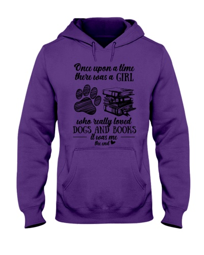 A Girl Loved Dogs And Books