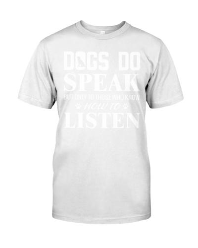 Dogs Do Speak