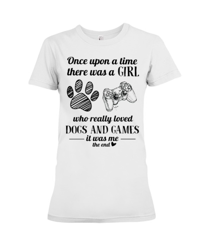 A Girl Loved Dogs And Games