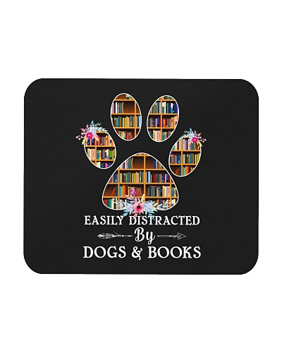 Easily Distracted By Dogs And Books