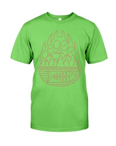 Bear Mark T Shirt