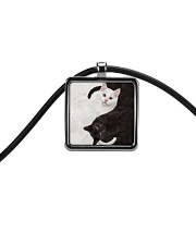 LIMITED TIME OFFER Cord Rectangle Necklace thumbnail