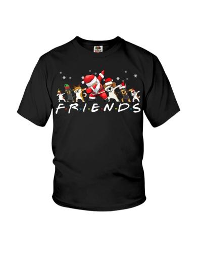 Dogs - Santa - Friends
