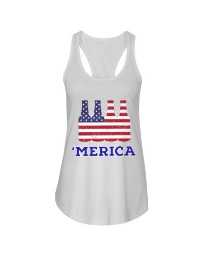 Beer Patriotic Merica Shirt