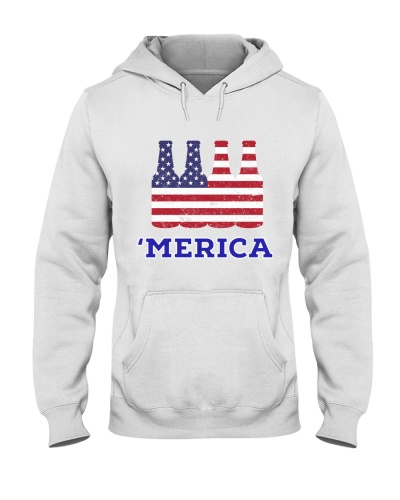 Beer Patriotic Merica Shirt