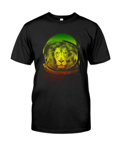 Lion Space T Shirt - Limited Time Offer