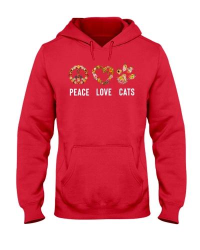 Peace - Love - Cats