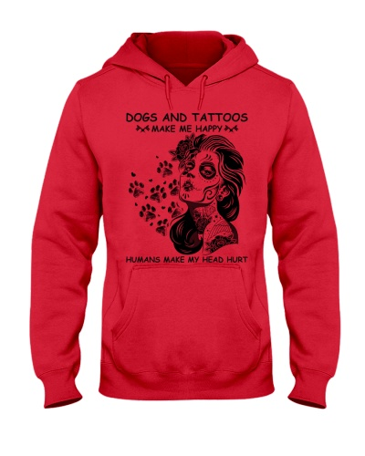 Dogs And Tattoos Make Me Happy