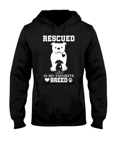Rescue dog is my favorite breed