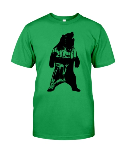Animals Bear T Shirt