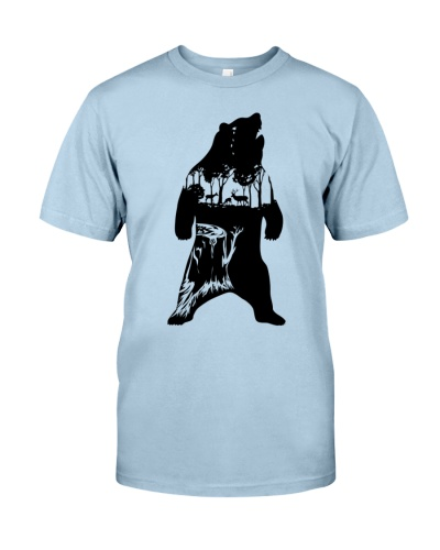 Animals Bear T Shirt