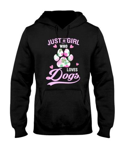 Girl Loves Dogs