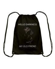 Hello Darkness  Drawstring Bag thumbnail