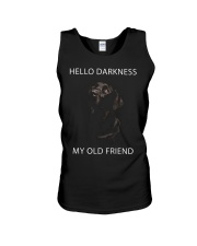 Hello Darkness  Unisex Tank thumbnail