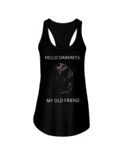 Hello Darkness  Ladies Flowy Tank thumbnail