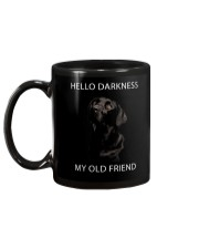 Hello Darkness  Mug back