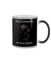 Hello Darkness  Color Changing Mug thumbnail