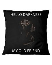 Hello Darkness  Square Pillowcase thumbnail