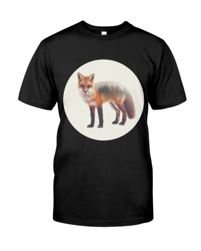 Fox And Forest T shirt