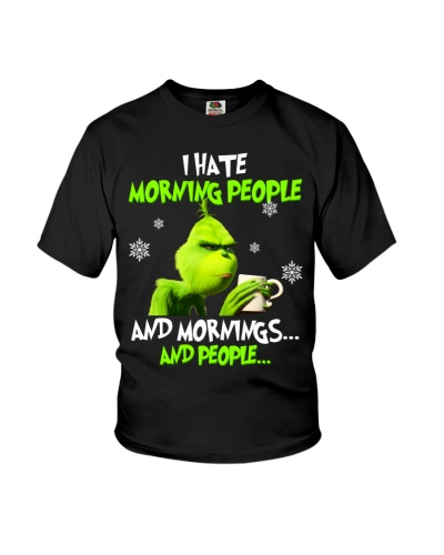 I Hate Morning People And Morning And People