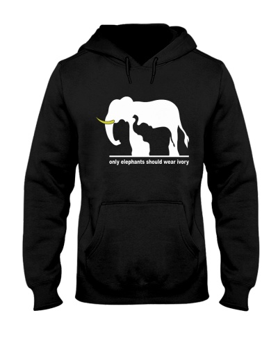 Only elephant should wear ivory