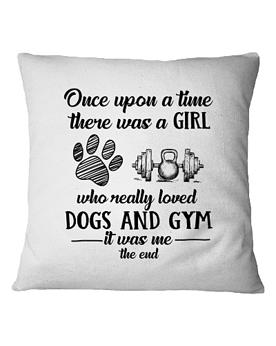 A Girl Loved Dogs And Gym