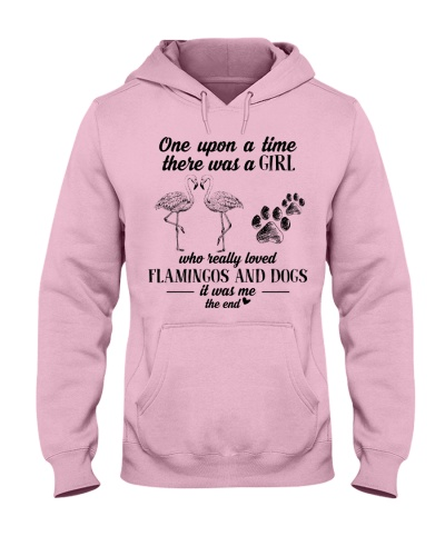 A Girl Loved Dogs And Flamingos