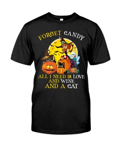 Halloween Cats Wine Lover