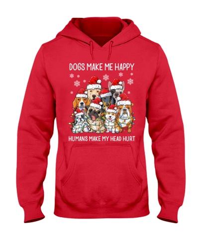 Dogs Make Me Happy Humans Make My Head Hurt