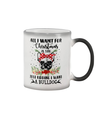 Christmas - Bulldog