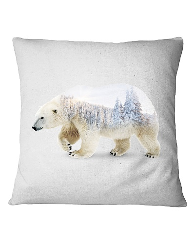 Double exposure Polar Bear