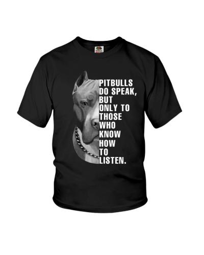Pitbulls Do Speak Only To Those Who How To Listen