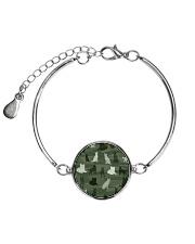 LIMITED TIME OFFER Metallic Circle Bracelet thumbnail