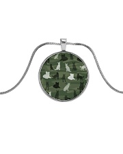 LIMITED TIME OFFER Metallic Circle Necklace thumbnail