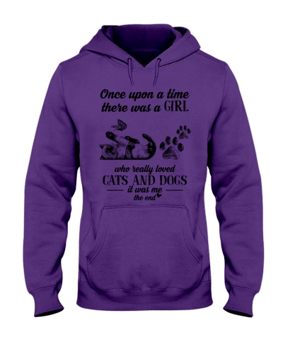A Girl loved Dogs And Cats