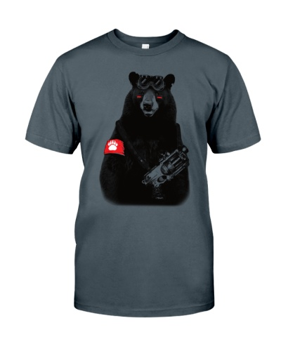 Bear Rebel T Shirt