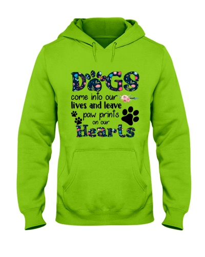 Dogs come into our lives