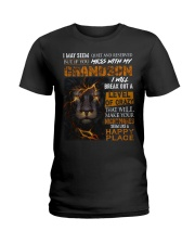 Mess With my Granson - Limited Edition Ladies T-Shirt thumbnail