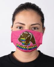 Pride 2020 - Mama Bear Cloth face mask aos-face-mask-lifestyle-01