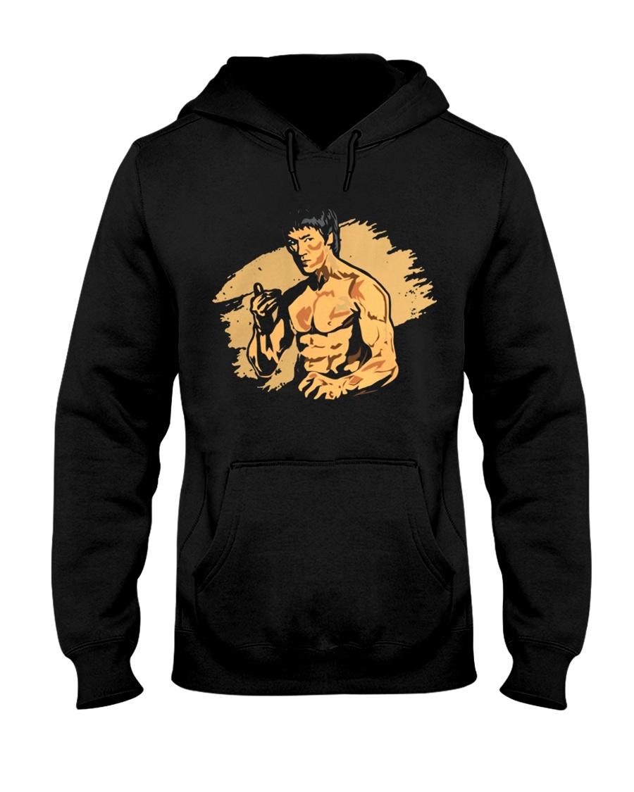 Remember Bruce Lee Hooded Sweatshirt