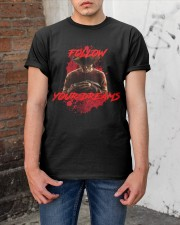 A Nightmare on Elm Street Classic T-Shirt apparel-classic-tshirt-lifestyle-31