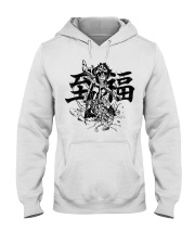 My Hero BLACK Hooded Sweatshirt front