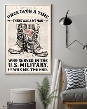 SHE SERVED IN THE US MILITARY 11x17 Poster lifestyle-poster-1