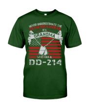 GRANDMA WITH DD-214 Classic T-Shirt tile