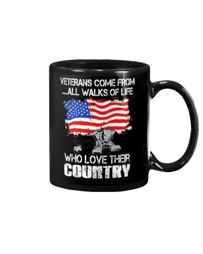 VETERANS LOVE THEIR COUNTRY