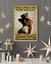 THE GIRL JOINED THE USMC  11x17 Poster lifestyle-holiday-poster-1