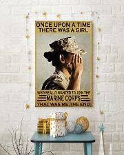 THE GIRL JOINED THE USMC  11x17 Poster lifestyle-holiday-poster-3