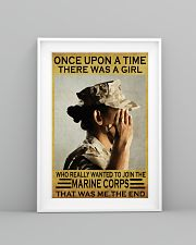 THE GIRL JOINED THE USMC  11x17 Poster lifestyle-poster-5