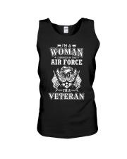 I AM AN AIR FORCE VETERAN Unisex Tank thumbnail