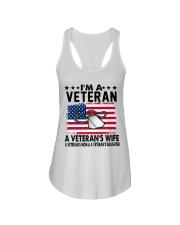 VETERAN VET'S WIFE MOM DAUGHTER Ladies Flowy Tank thumbnail